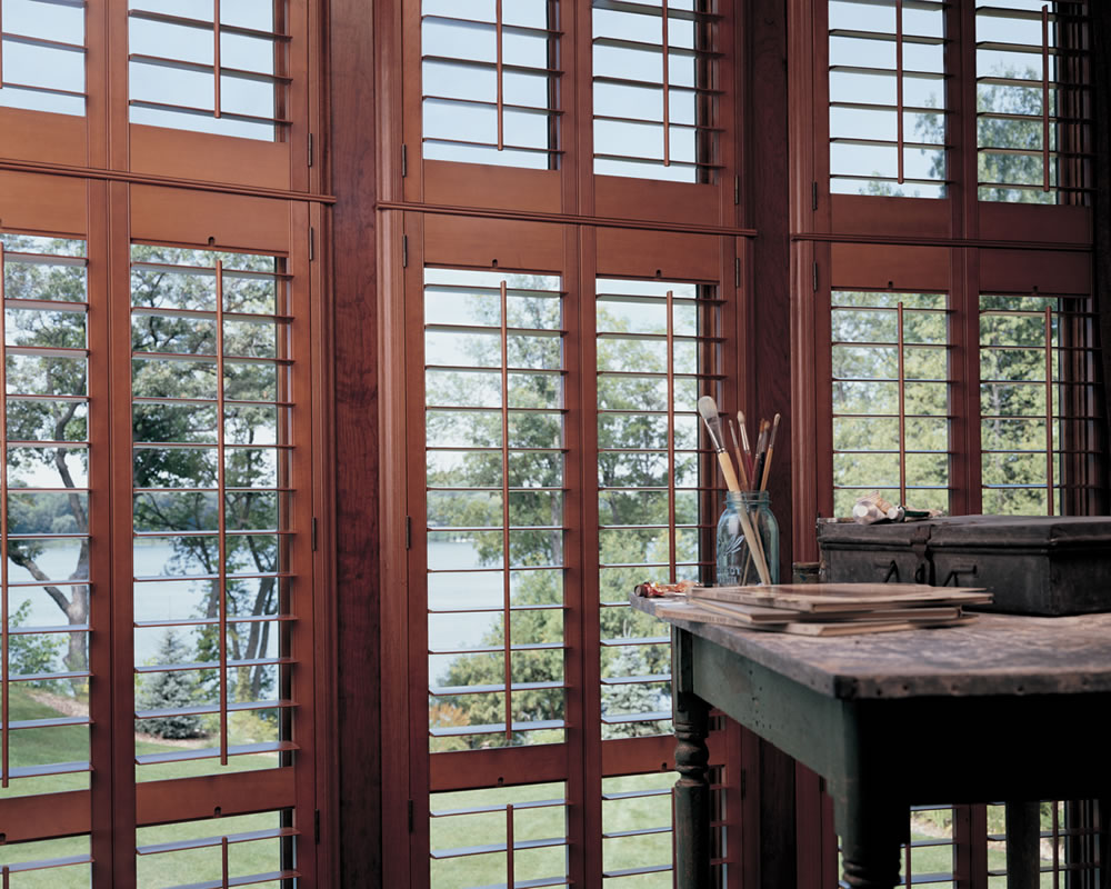 Houston tx plantation shutters faux wood texas for Timber shutters