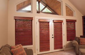 "Houston 2 and half"" Wood Blinds"