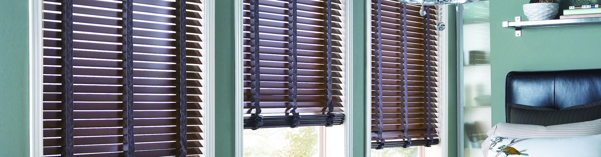 Houston wood blinds