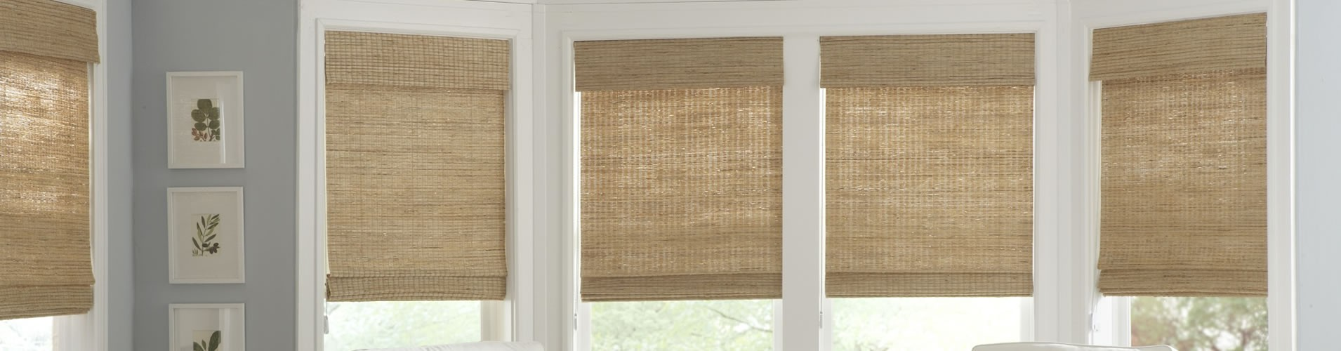 Custom Roman Shades, Houston, TX