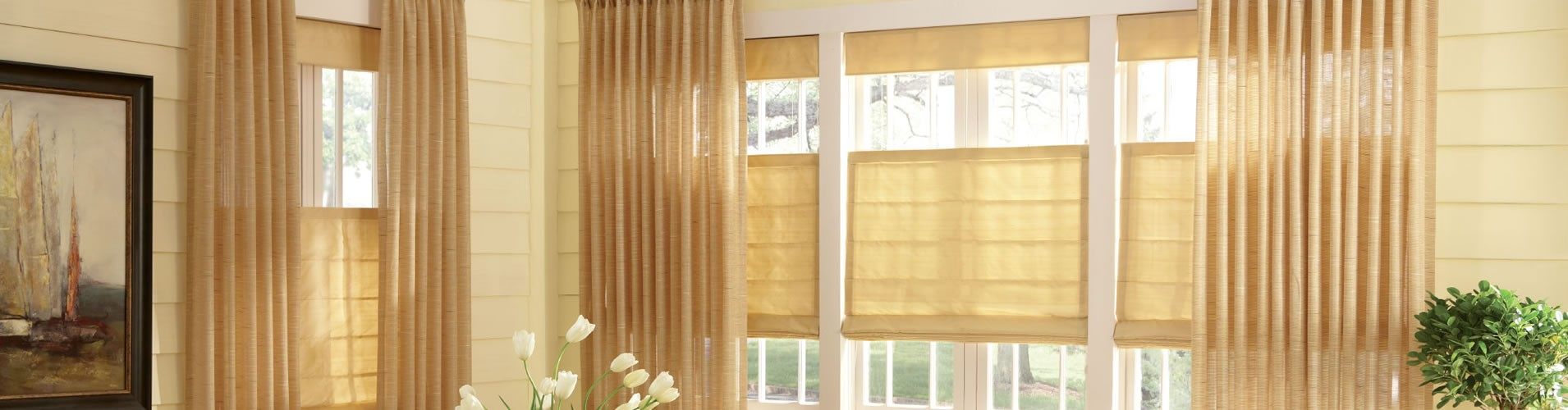 Roman Shades Houston