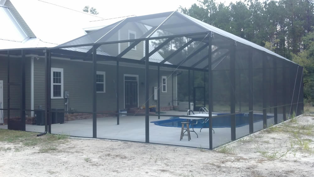 Houston Pool Enclosure 14