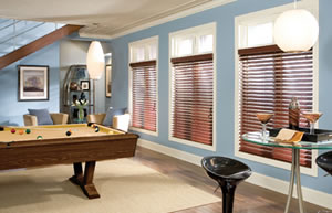 "Houston 2 and half"" Faux Wood Blinds"