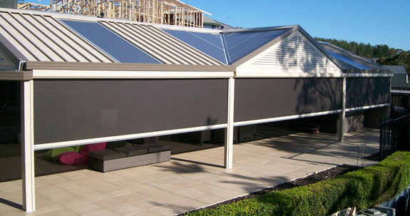 Houston Electric Solar Screens