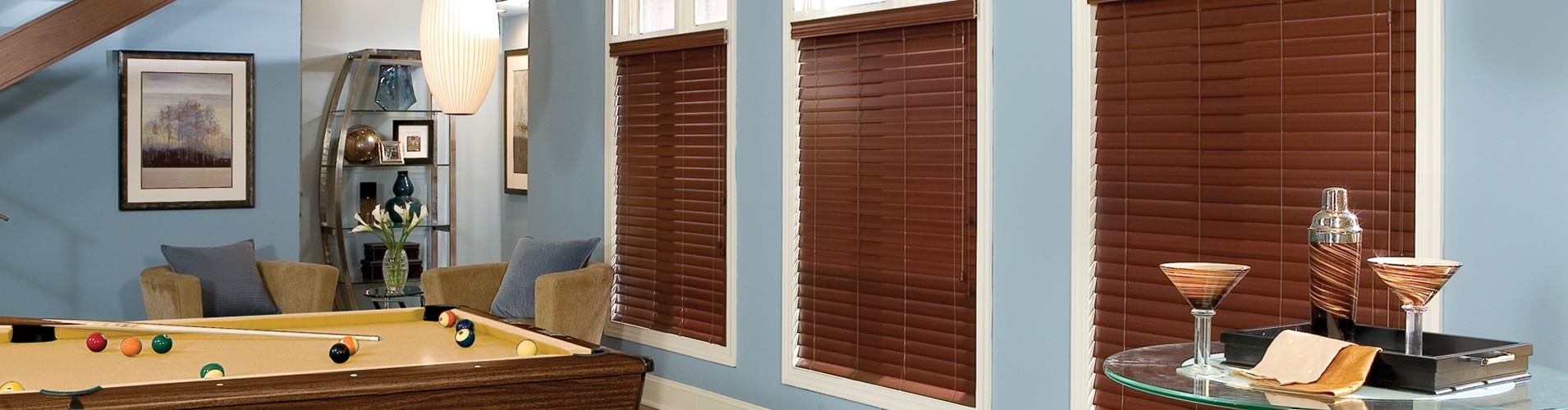 faux wood blinds, Houston, TX