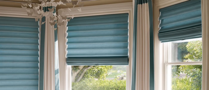 Houston Texas Roman Shades
