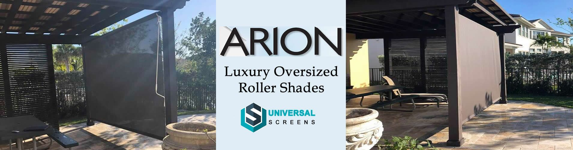 crank operated manual porch shades Houston TX