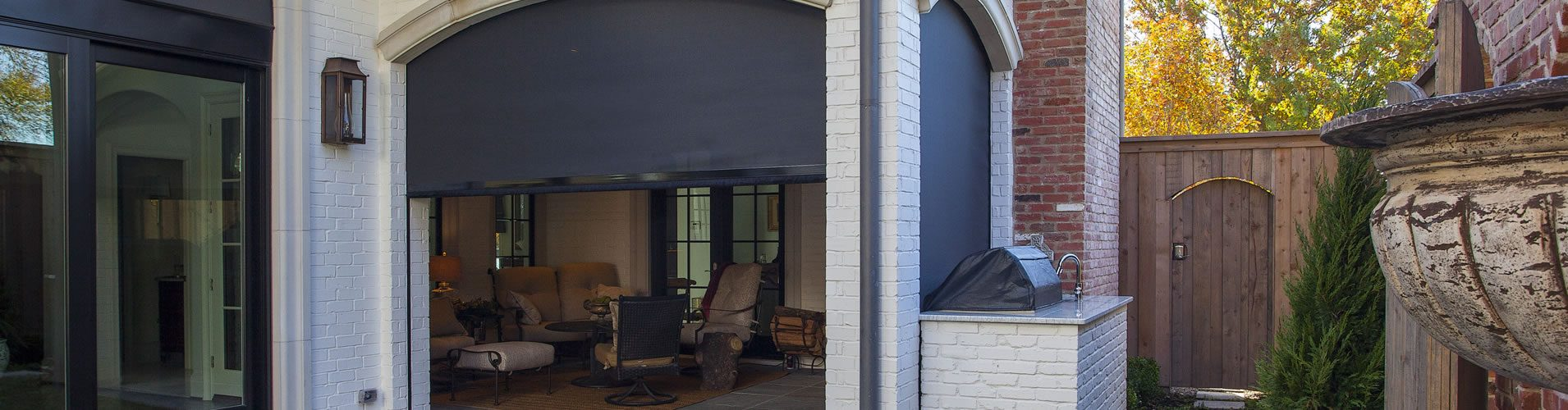 motorized retractable screens Houston TX
